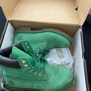 Limited edition timberlands.
